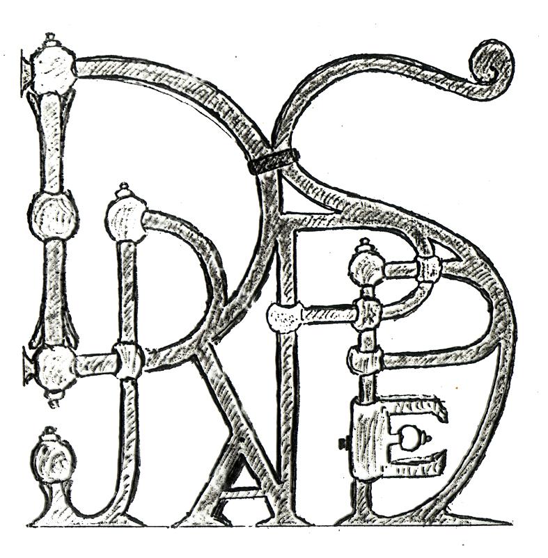 Logo drappes ecrit sans fond