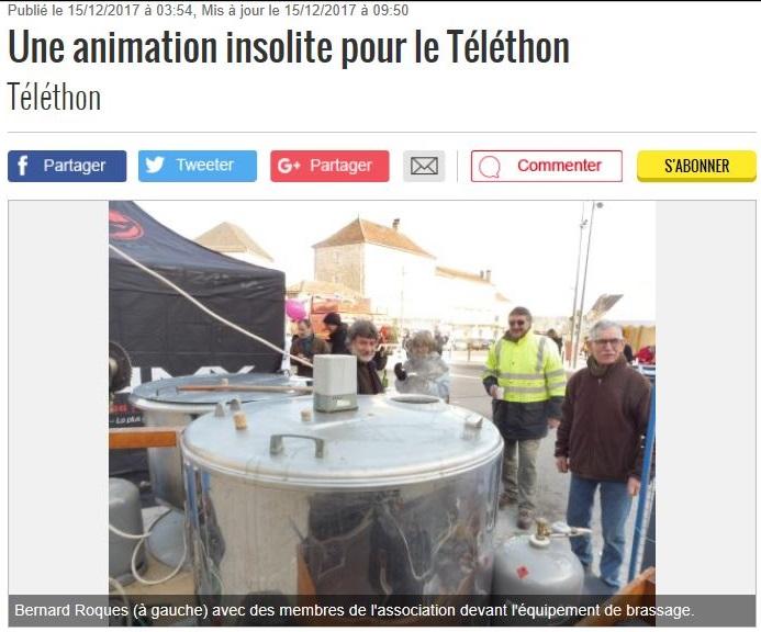 Telethon 2017 photo article